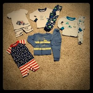 5 pair of pajamas size 2t